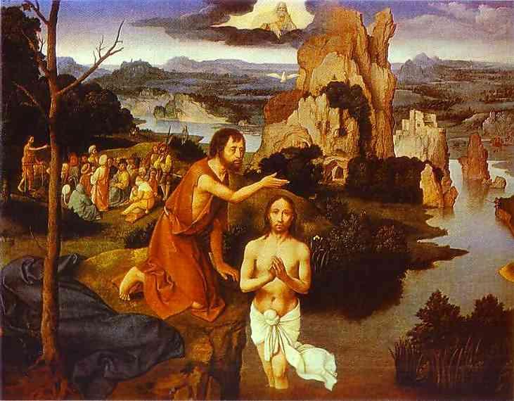 Joachim-PATENIER-The-Baptism-of-Christ-1515-Kunsthistorisches-Museum-Vienna