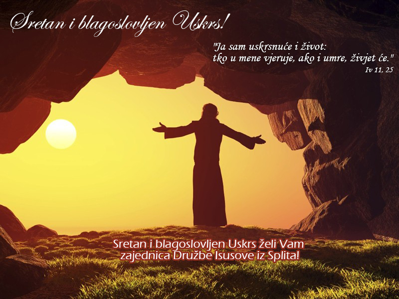 sretan i blagoslovljen uskrs Sretan i blagoslovljen Uskrs! | Isusovci Split sretan i blagoslovljen uskrs